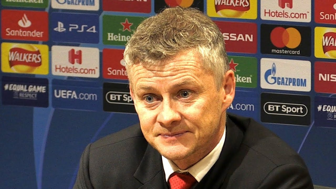Manchester United 0-2 PSG - Ole Gunnar Solskjaer Full Post Match Press Conference - Champions League