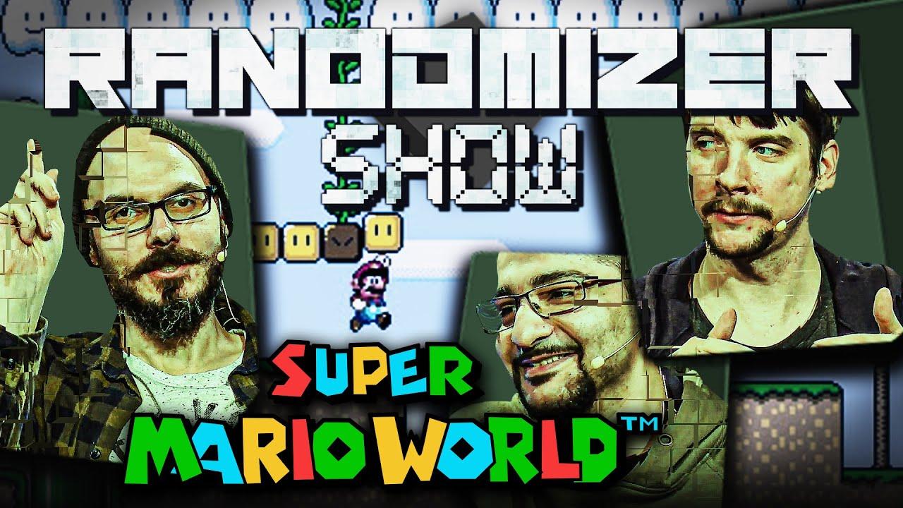 Super Mario World #2 ~  Yoshi stribt 1000 Tode! | Die Randomizer Show mit Matthias, Sia & Gregor