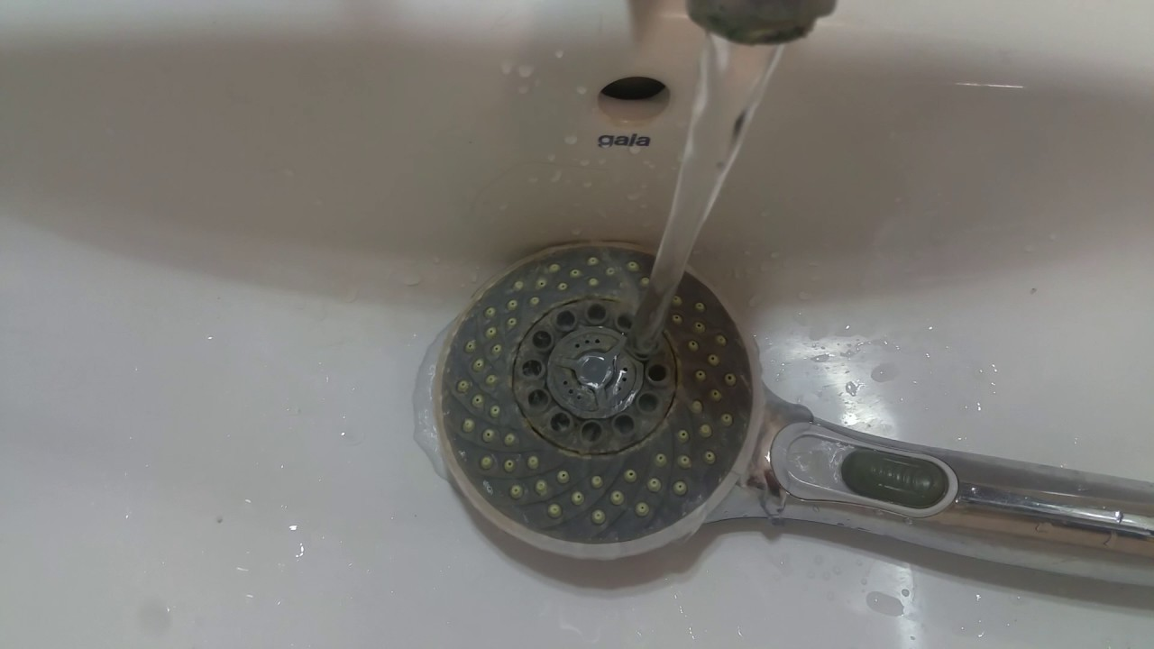 Como Limpiar Los Grifos De Cal Grifo Con Cal With Como Limpiar  ~ Como Limpiar La Alcachofa De La Ducha
