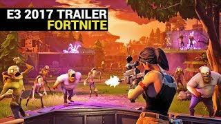 Fortnite - E3 2017 Official Gameplay Trailer (Xbox One S)