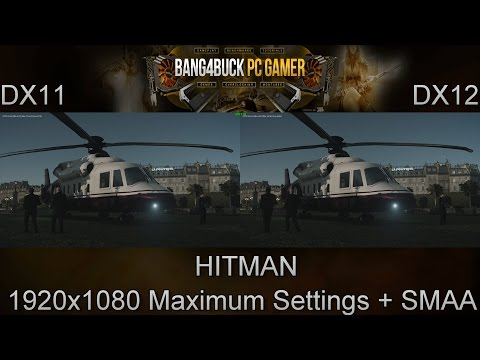 HITMAN DX11 Vs DX12 Performance | GTX 980Ti | i7 5960X 4.5GHz
