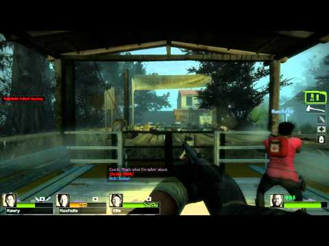 Left for Dead 2 Swamp Fever Walkthrough - Live Commentary with Rawry - Part 1