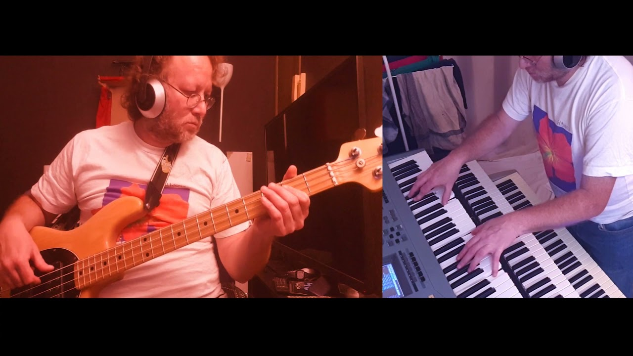 Download Rush - Marathon, 1985 (Bass and Keyboards Cover)