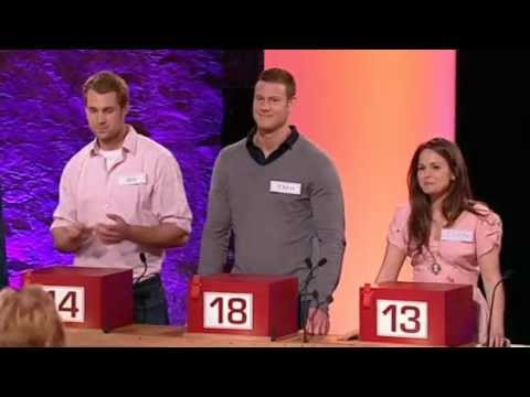 Tom Hopper as McFly's guest on Celebrity Deal or No Deal
