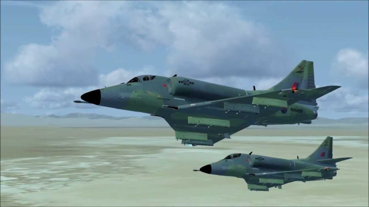 FSX A-4 Skyhawk