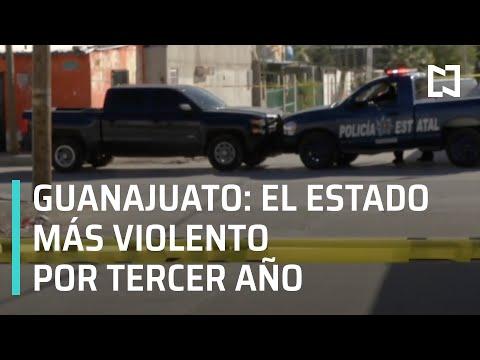 Cifras de homicidios en México 2020 | Guanajuato es el estado más violento - Hora 21