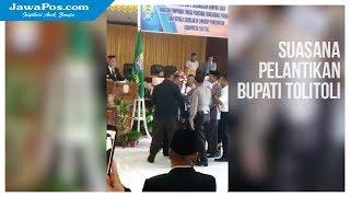 Lantik Pejabat, Bupati Dan Wakil Bupati Tolitoli Nyaris Adu Jotos
