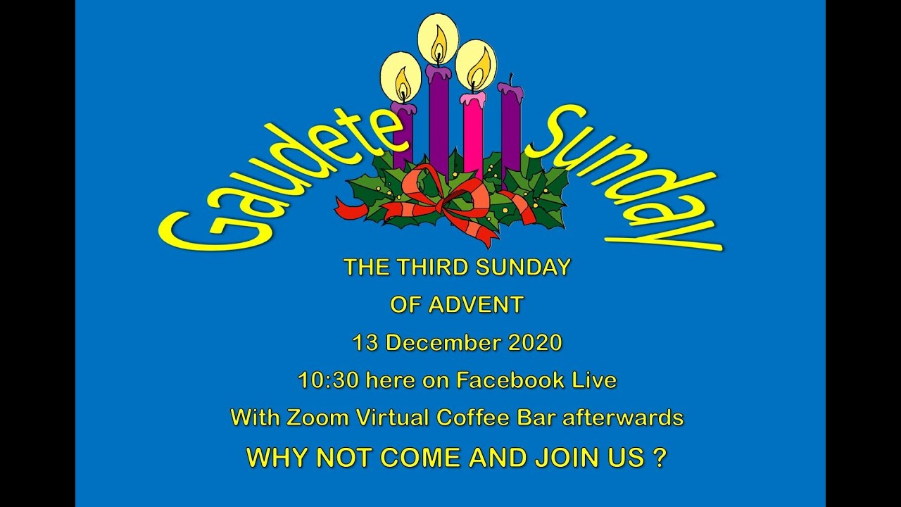Anglican Chaplaincy of Midi Pyrenees & Aude - Service for Advent 3 with Agape Love Feast
