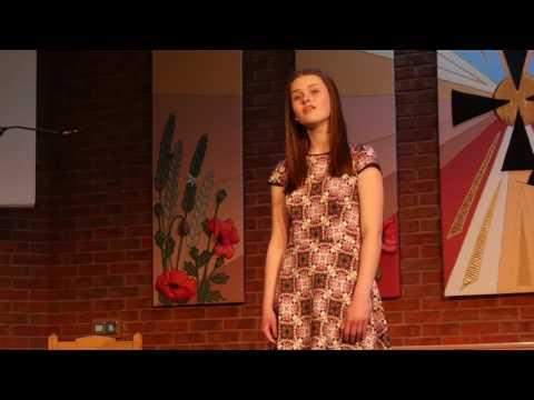 Angelina Dorlin-Barlow The Last Rose of Summer, Britten