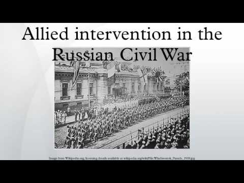 Allied intervention in the Russian Civil War