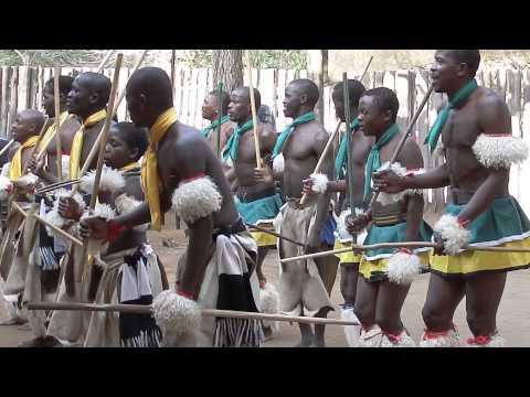 Swazi Men Dance and Sing #Swaziland