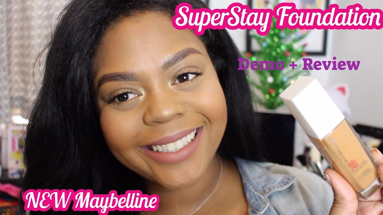 7ac800fa851 Maybelline's SuperStay 24 Hours Foundation + NEW Sponge and Mascara ...