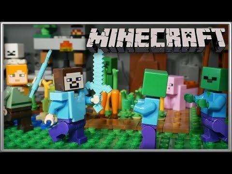 Подготовка к мультфильму Minecraft / LEGO Minecraft
