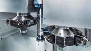 EMAG at AMB: Vertical Turning Machine VT 2 - EMAG
