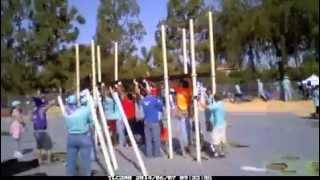 Time Lapse - Kaboom! Playground Build - Wells Park, El Cajon Ca