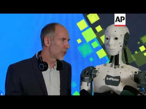 Romania's first humanoid DIY robot  unveiled