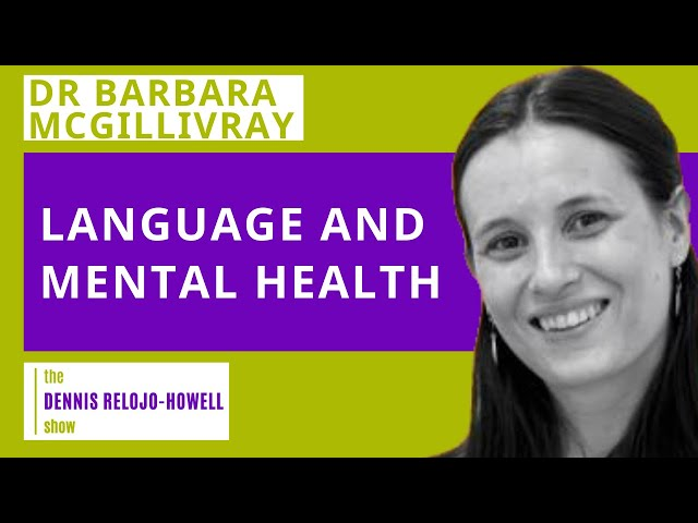Dr Barbara McGillivray: Language and Mental Health