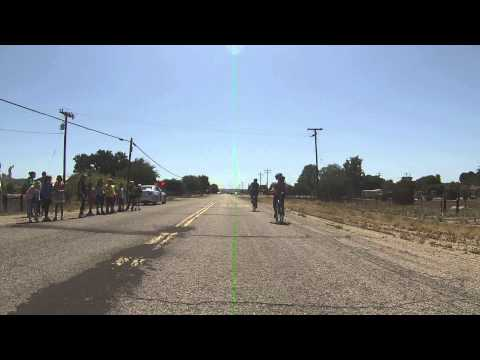 AIDS/LifeCycle Day 3 ride into Las Lomitas Elementary School Bradley, CA
