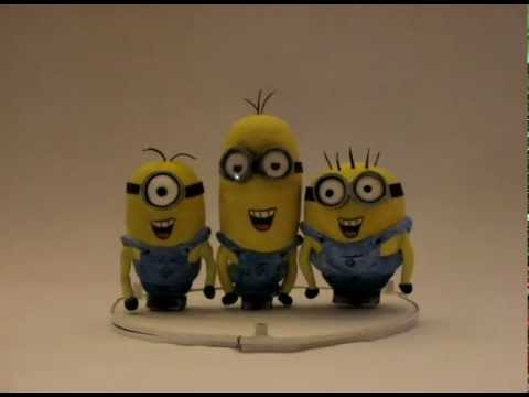 Happy Birthday song from the Minions.flv - YouTube