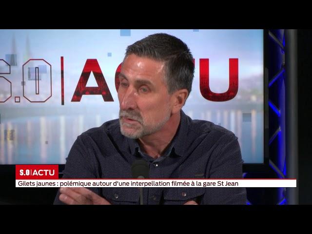 L'invité du journal - Bruno Vincendon - CFDT Police