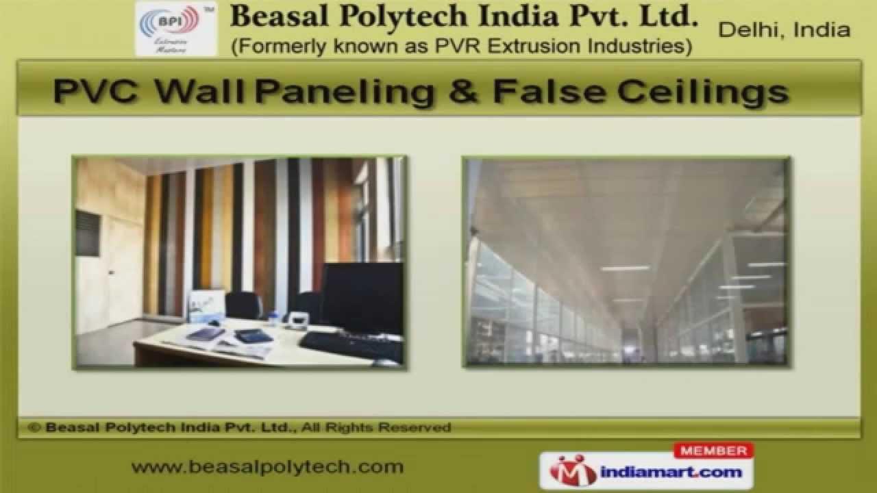 Bathroom Plastic Doors New Delhi Delhi pvc productsbeasal polytech india pvt. ltd., new delhi - youtube
