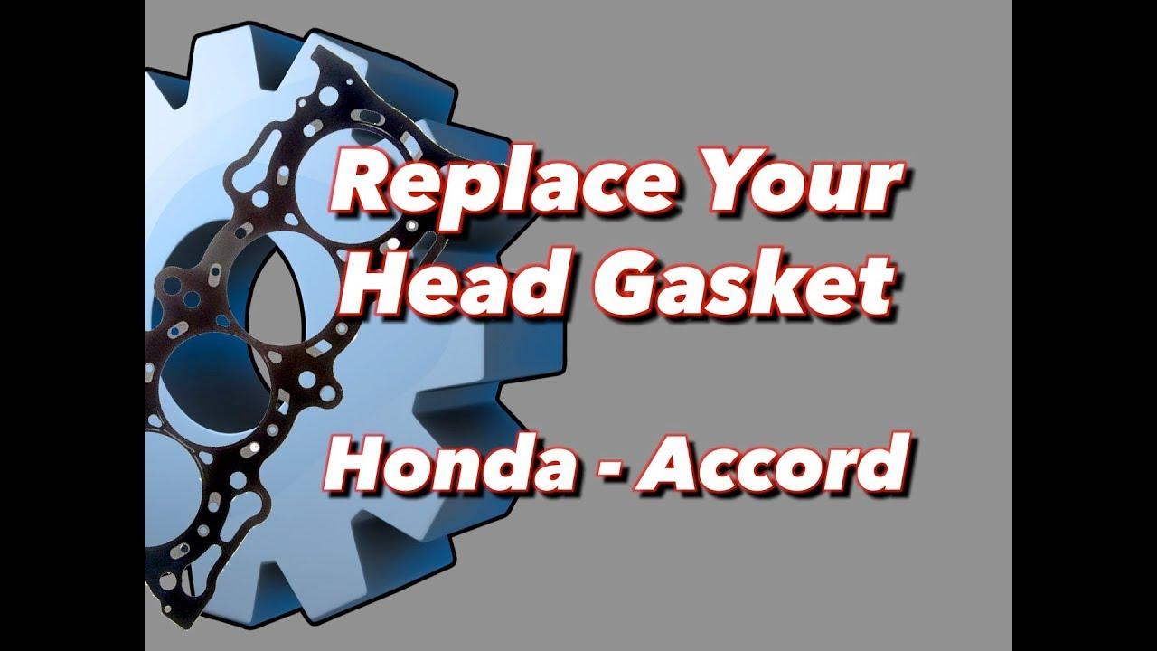 blown head gasket replacement honda accord [ 1280 x 720 Pixel ]
