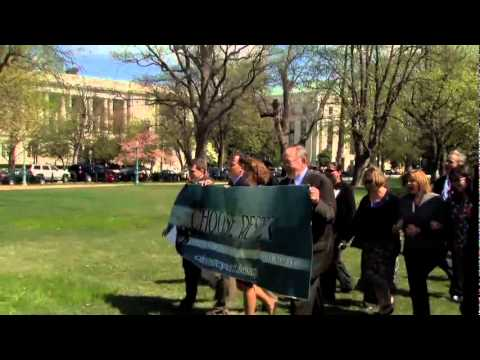 "2012 ""Choose Respect"" Alaska Congressional Delegation Rally in Washington D.C. B - Roll"