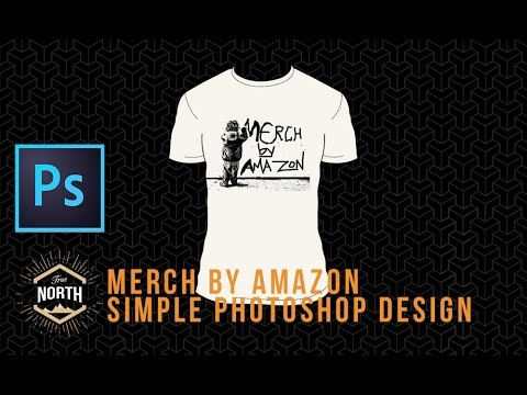 half off 362a1 454b4 Merch By Amazon: Simple Photoshop Design for Beginners