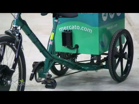 About Mercato: Delivery on Electric Trikes!