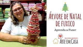 Árvore de Natal de Fuxico