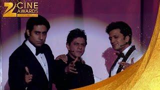 SRK, Abhishek & Riteish Funny Zee Cine Awards 2014