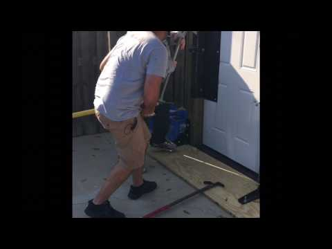 Forcible Entry 2 Firefighter Inward Swinging Door Youtube
