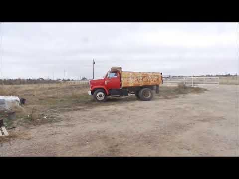 1988 Chevrolet Kodiak dump truck for sale | no-reserve Internet auction  November 30, 2017