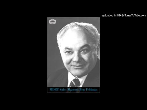 1978 MDRT  An Afternoon With Ben Feldman, CLU  Part 2