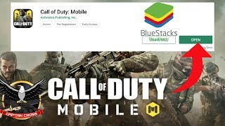Gambar cover How to Install and Set Up Call of Duty Mobile on BlueStacks Emulator | Download Free Controls