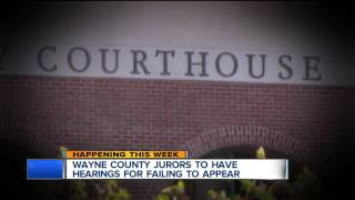 How to avoid fines, jail time if you missed jury duty in Wayne County in 2016