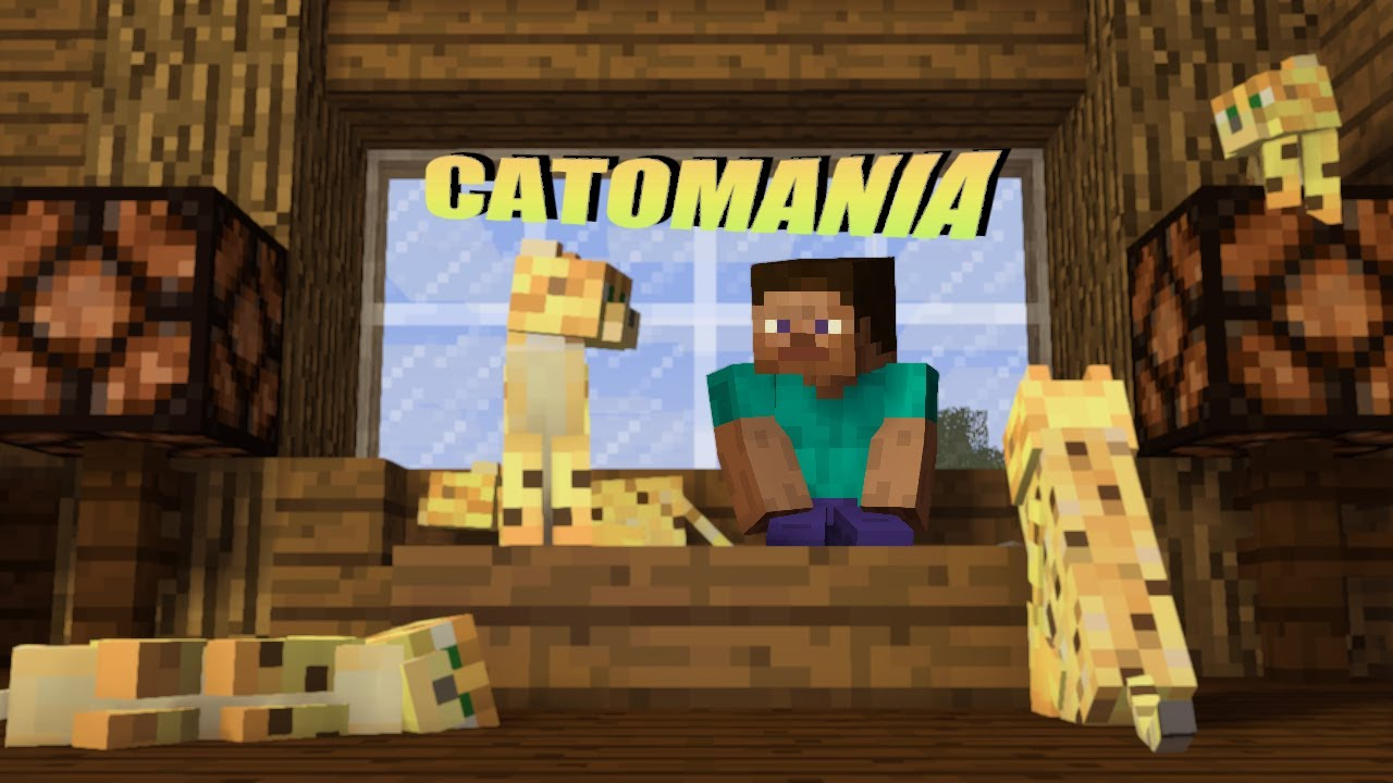 Catomania (Minecraft Animation)