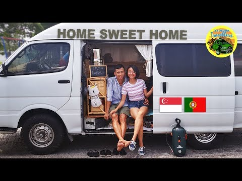 Young Singaporean Couple Quits the Rat Race to Travel the World