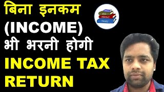 COMPULSORY FILING OF INCOME TAX RETURN IRRESPECTIVE OF INCOME II CA MANOJ GUPTA
