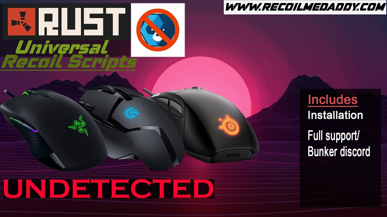 [NEW] RUST UNIVERSAL NO RECOIL SCRIPT for any mouse | UPDATED August 2019 |  We sell quality scripts