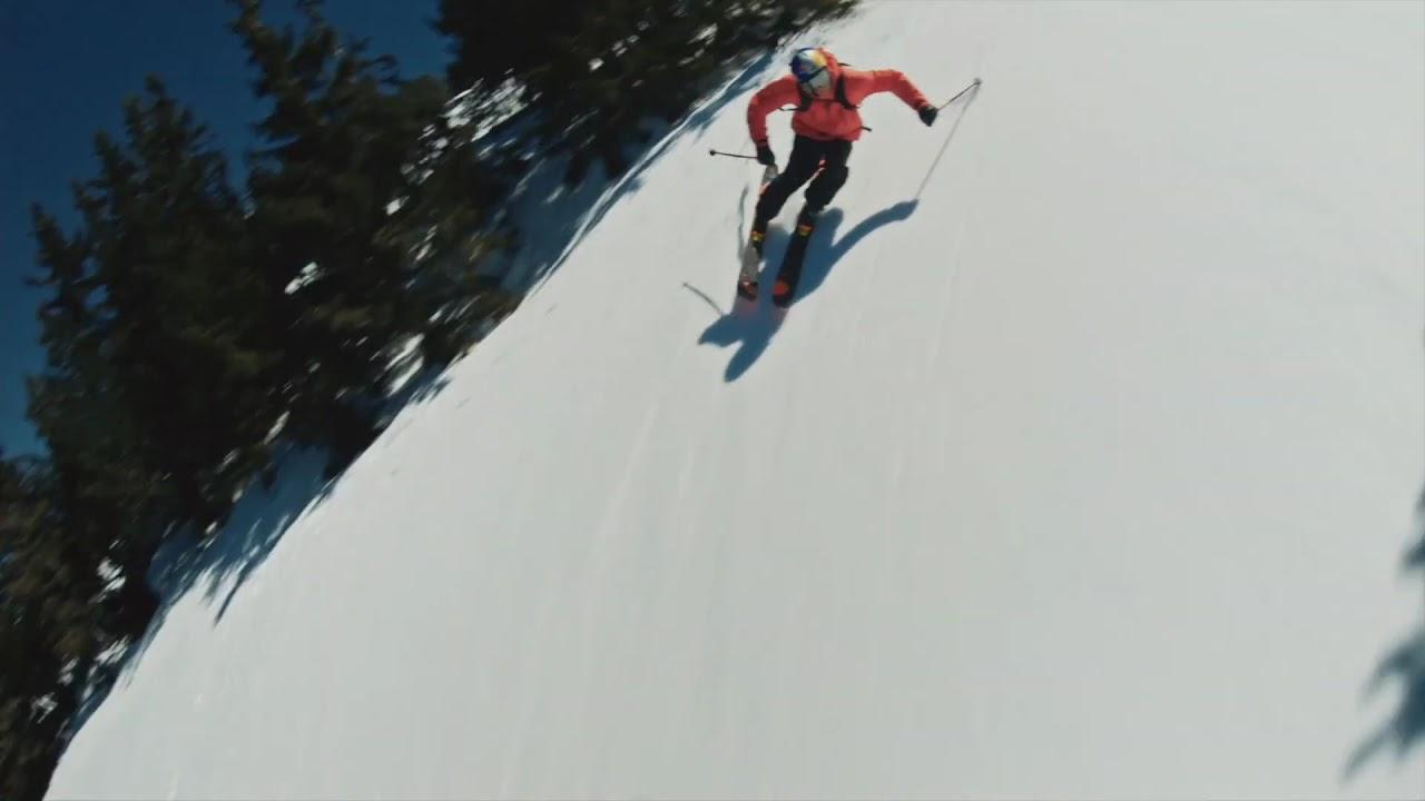 Fastwood Fpv by Richard Permin - High Speed Free Skiing vs Drone Fpv картинки
