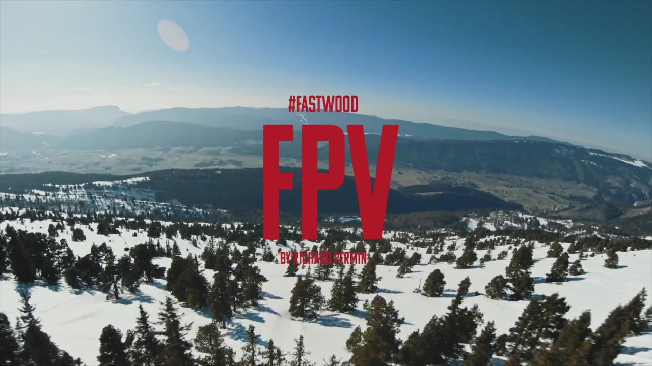 Fastwood Fpv by Richard Permin - High Speed Free Skiing vs Drone Fpv фотки