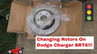 Changing Rotors On Dodge Charger SRT8!!!