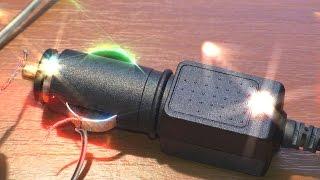 видео Автомобильная зарядка навигатора