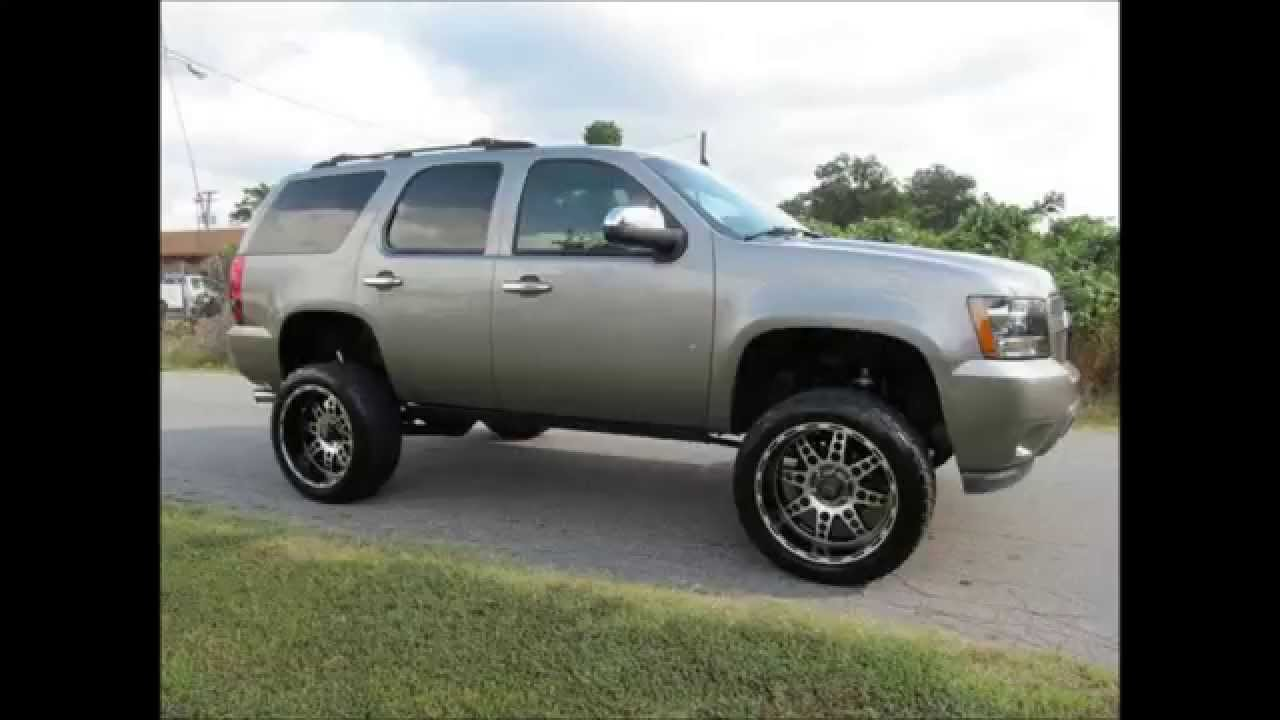 2014 Chevy Tahoe For Sale >> 2007 Chevrolet Tahoe LS Lifted - YouTube