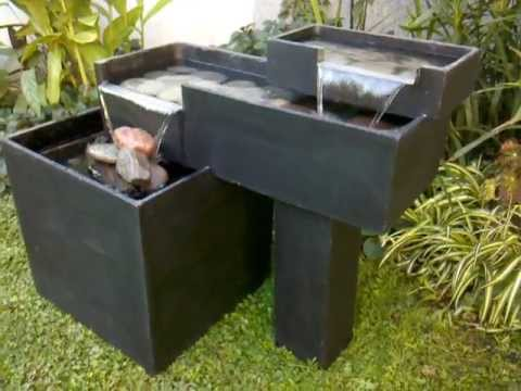 fuentes de agua para jardin shuiyu n youtube. Black Bedroom Furniture Sets. Home Design Ideas