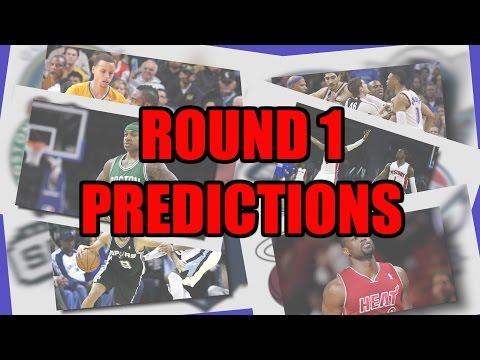 2016 NBA Playoff Predictions - Round 1