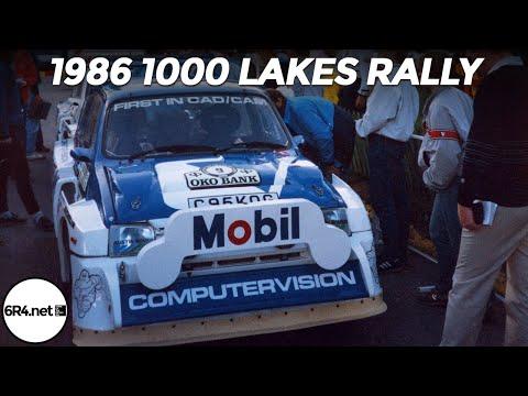 MG Metro 6R4 - 1986 1000 Lakes Rally
