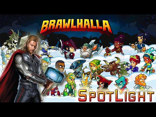 Brawlhalla! - Thor, Madness, Spotlight!!
