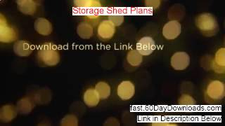 Storage Shed Plans Review And Risk Free Access (fast Access)